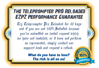 Teleprompter PRO Reloaded Limited Time Launch |